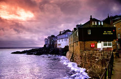 Str. Ives, Cornwall    lizenzfreie stockfotos