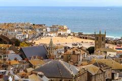 Str. Ives Cornwall, Großbritannien Lizenzfreie Stockfotos