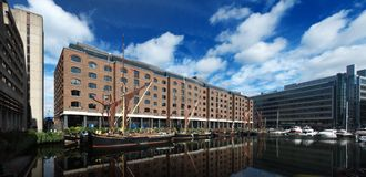Str. katharine Dock Stockfotos