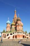 Str. Kathedrale des Basilikums im roten Quadrat Lizenzfreie Stockfotografie