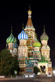 Str. Kathedrale des Basilikums in Moskau. Stockbilder