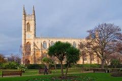 Str. Lukes u. Christ-Kirche, London Stockfotos