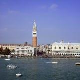 Str. markiert Venedig vom Meer Lizenzfreie Stockfotografie