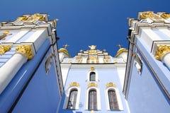 Str. Michael golden - gewölbtes Kloster, Kiew Stockbild