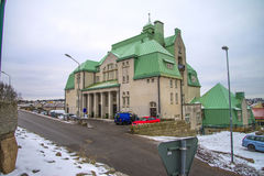 Strömstad city hall (sweden) Stock Image