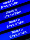 Str. Pancras, London Lizenzfreie Stockbilder