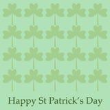 Str. Patrick `s Tageshintergrund Stockfotografie