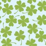 Str. Patrick `s Tagesnahtloses Muster lizenzfreie abbildung