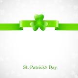 Str. Patrick `s Tagkarte Lizenzfreie Stockfotos