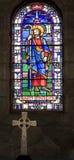 Str. Patrick und Kreuz Stockfotos