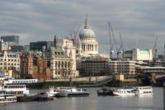 Str. Pauls über von der Themse Lizenzfreie Stockfotografie
