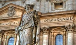 Str.-Peters Statue Stockfotos