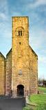 Str. Peters, Wearmouth, England. Stockbilder