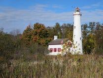 Stör-Punkt-Leuchtturm Stockfotografie