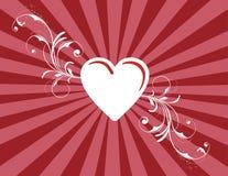 Str. Valentinsgruß'' s-Tagesbeschaffenheit Stockbild