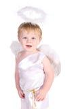 Str.-Valentinsgruß \ 's-Tagesengelsjunge mit Flügeln lizenzfreie stockbilder