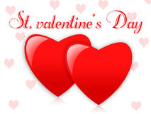 Str. Valentinsgrußtag Lizenzfreies Stockbild