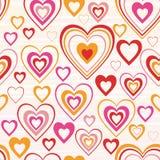 Str.-Valentinstag - nahtloser vektorhintergrund stock abbildung