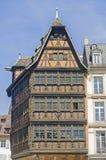 Straßburg - alter Palast Stockbild