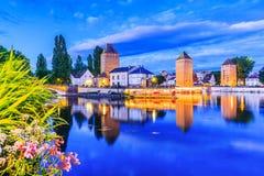 Straßburg, Elsass, Frankreich stockfotografie
