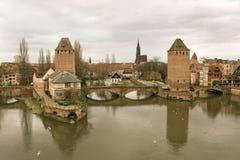Straßburg in Elsass, Frankreich Lizenzfreie Stockfotografie