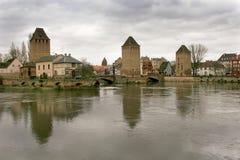 Straßburg in Elsass, Frankreich Lizenzfreies Stockfoto