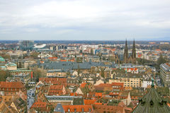 Straßburg in Elsass, Frankreich Lizenzfreies Stockbild