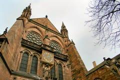 Straßburg in Elsass, Frankreich Stockfotografie