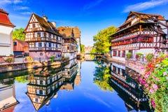 Straßburg, Elsass, Frankreich stockbild