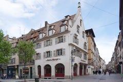 Straßburg, Frankreich - 3. Mai 2016: Schöne alte Stadt von Strasbour Stockbild