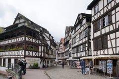 Straßburg, Frankreich - 3. Mai 2016: Schöne alte Stadt von Strasbour Stockfoto