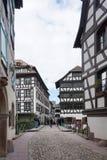 Straßburg, Frankreich - 3. Mai 2016: Schöne alte Stadt von Strasbour Stockfotos