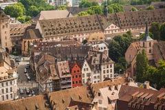 Straßburg-Häuser frankreich Lizenzfreie Stockbilder