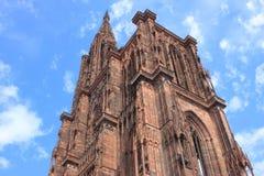 Straßburg-Kathedrale Lizenzfreies Stockfoto