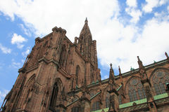 Straßburg-Kathedrale Stockbild