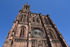 Straßburg-Kathedrale, Frankreich Stockbild