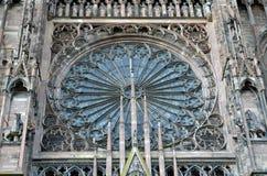 Straßburg-Kathedralendetails, Straßburg Frankreich lizenzfreie stockfotografie