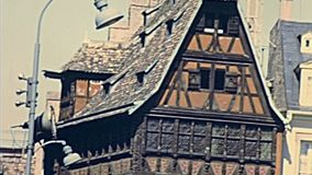 Straßburg Maison Kammerzell stock video footage
