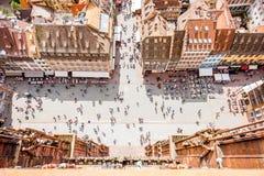 Straßburg-Stadt in Frankreich lizenzfreie stockfotos