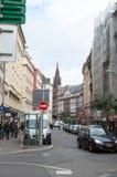 Straßburg-Szene Stockfoto