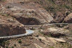 Straße in Äthiopien Lizenzfreie Stockfotografie