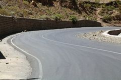 Straße in Äthiopien Stockfoto