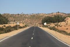Straße in Äthiopien Lizenzfreie Stockbilder