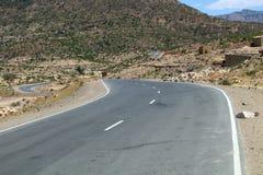 Straße in Äthiopien Stockbilder