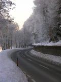 Straße in Österreich Lizenzfreies Stockfoto