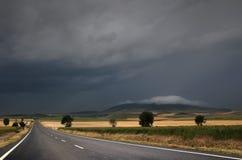 Straße über dem Sturm Stockfotos