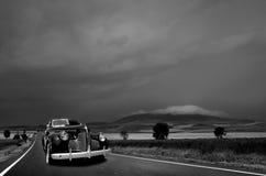 Straße über dem Sturm Lizenzfreie Stockfotografie