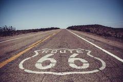 Straße 66 lizenzfreie stockfotos