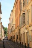Straße in Aix en Provence Stockbilder