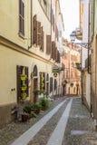 Straße in alba, stockbild